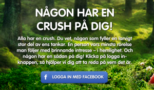 Viral spridning med Facebook kampanj.