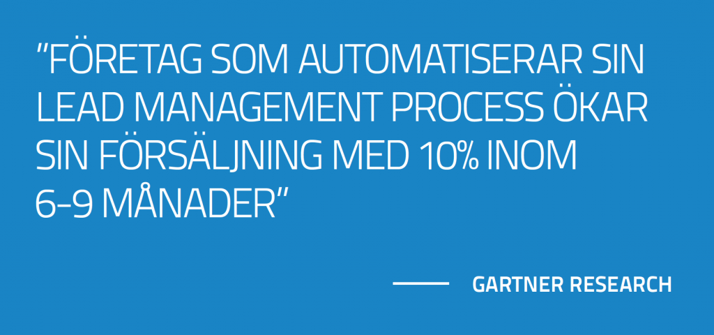gartner study och marketing automation