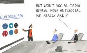 Dåliga sociala medier